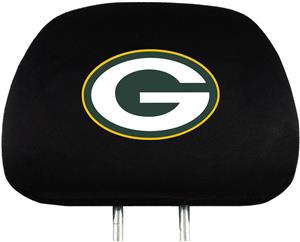 NFL Green Bay Packers Headrest Covers - Set of 2