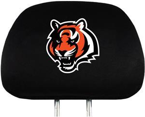 NFL Cincinnati Bengals Headrest Covers - Set of 2