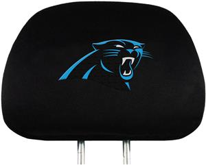 NFL Carolina Panthers Headrest Covers - Set of 2