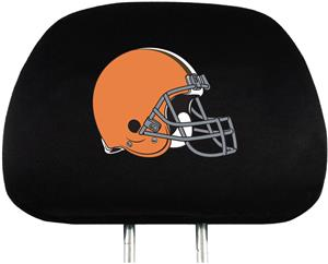 NFL Cleveland Browns Headrest Covers - Set of 2