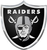 NFL Oakland Raiders Color Team Emblem