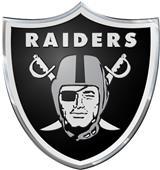 NFL Oakland Raiders Color Team Emblem