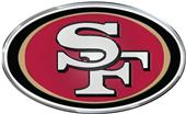 NFL San Francisco 49er's Color Team Emblem