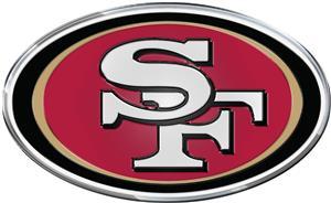 NFL San Francisco 49er's Color Team Emblem