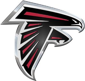 NFL Atlanta Falcons Color Team Emblem