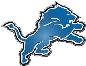NFL Detroit Lions Color Team Emblem