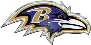 NFL Baltimore Ravens Color Team Emblem