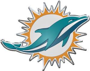 NFL Miami Dolphins Color Team Emblem