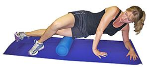 Tandem Pro-Tec Foam Roller For Sore Injured Muscle