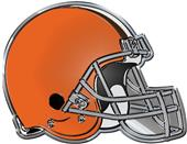 NFL Cleveland Browns Color Team Emblem