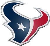 NFL Houston Texans Color Team Emblem