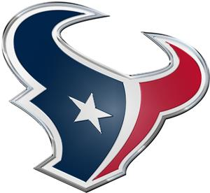 NFL Houston Texans Color Team Emblem