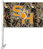 COLLEGIATE Sam Houston St. Realtree Camo Car Flag