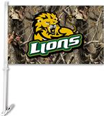 COLLEGIATE SE Louisianna Realtree Camo Car Flag
