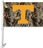 COLLEGIATE Tennessee Realtree Camo Car Flag