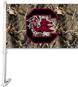 COLLEGIATE South Carolina Realtree Camo Car Flag