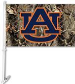 COLLEGIATE Auburn Realtree Camo Car Flag