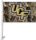 COLLEGIATE Central Florida Realtree Camo Car Flag