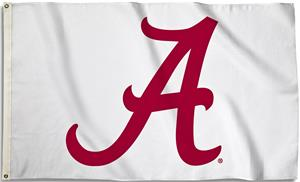 COLLEGIATE Alabama 3' x 5' Flag w/Grommets