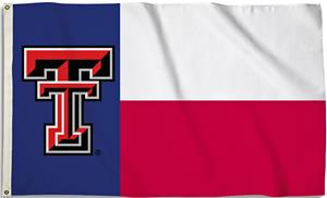 COLLEGIATE Texas Tech Motif 3' x 5' Flag w/Grommet