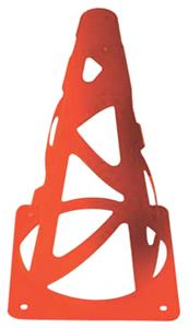 "Vizari 9"" High Orange Safety Field Cones"