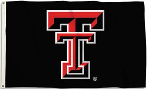 COLLEGIATE Texas Tech 3' x 5' Flag w/Grommets
