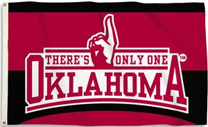 COLLEGIATE Oklahoma There Only One 3' x 5' Flag