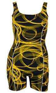 Adoretex Stellar Spirals Unitard Swimsuit