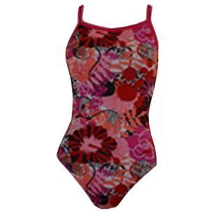 Adoretex Womens One Piece Hibiscus Swimwear