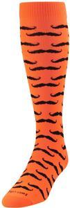 Twin City Krazisox Mustache Over Calf Socks