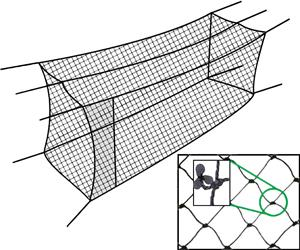 Cimarron Sports Twisted Poly #24 Batting Cage Nets