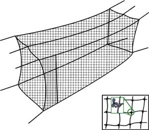 Cimarron Sports Twisted Poly #42 Batting Cage Nets