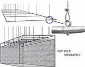 Cimarron Sport 55' or 70' Suspended Baseball Frame