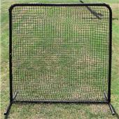 Baseball 7x7 #42 Fielder Net & Commercial Frame
