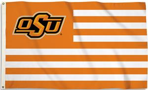 COLLEGIATE Oklahoma State Stripes 3' x 5' Flag