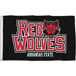COLLEGIATE Arkansas State 3' x 5' Flag w/Grommets