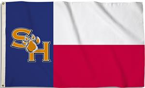 COLLEGIATE Sam Houston 3' x 5' Flag w/Grommets
