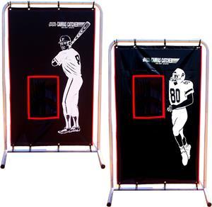 Cimarron 2-Sport Catcher Vinyl Backstop w/Frame