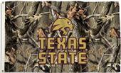COLLEGIATE Texas State Camo 3' x 5' Flag w/Grommet