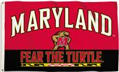 COLLEGIATE Maryland 3' x 5' Flag w/Grommets