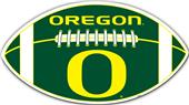 "COLLEGIATE Oregon 12"" Vinyl Car Magnet"