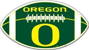"""COLLEGIATE Oregon 12"""" Vinyl Car Magnet"""