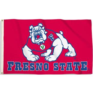 COLLEGIATE Fresno State 3' x 5' Flag w/Grommets