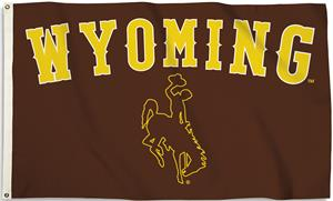 COLLEGIATE Wyoming 3' x 5' Flag w/Grommets