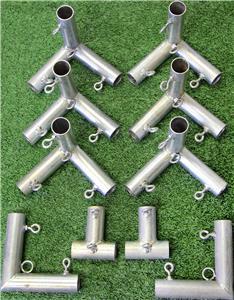 Cimarron 10'x10' or 20'x10' Golf Frame Corner Kit