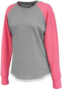 Pennant Women's Hi-Lo Fleece Crew