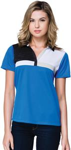 Tri Mountain Gold Lady's Marquis Polo Shirt