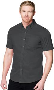 Tri Mountain Mens Regal Short Sleeve Shirt