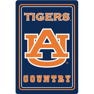 "COLLEGIATE Auburn 12""x18"" Metal Sign"
