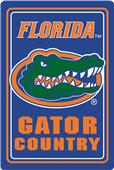 "COLLEGIATE Florida 12""x18"" Metal Sign"